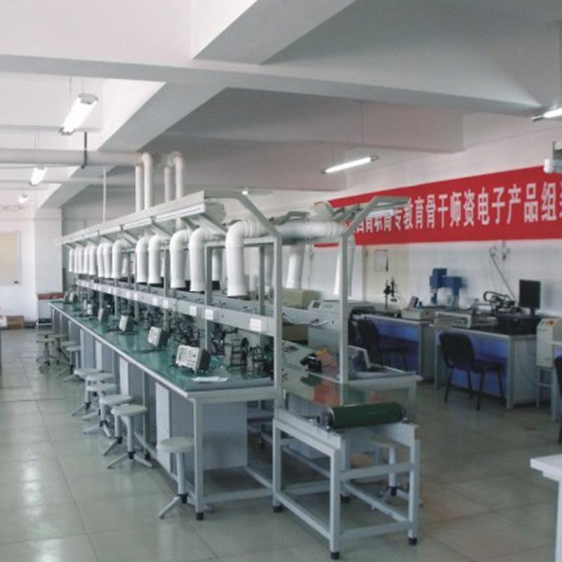 KSD-4705型初级电子工艺装配流水线